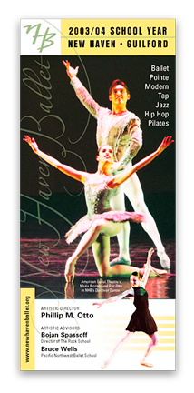 Graphic Design - New Haven Ballet
